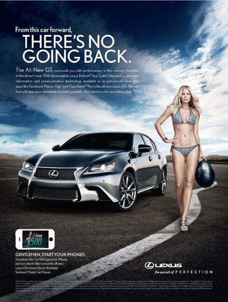 sexist car ad lexus