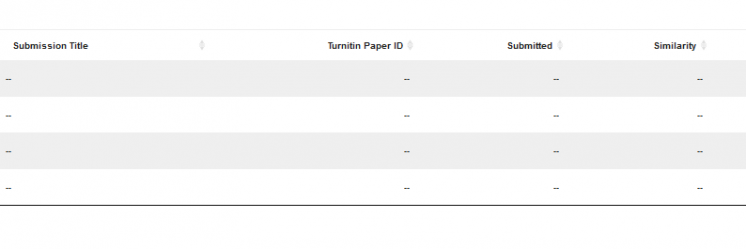 Anonymous grading in Turnitin