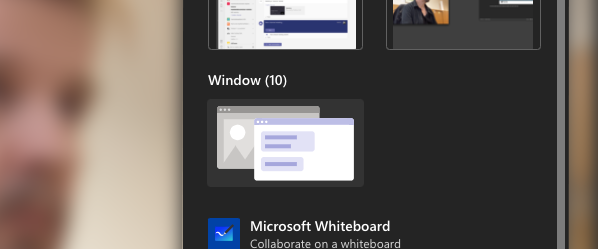 Using Teams for lecturing? Try out PowerPoint Live for presenting.