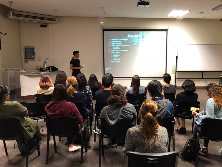 Presenting Aalto University's MA programmes in San Jose, Costa Rica.
