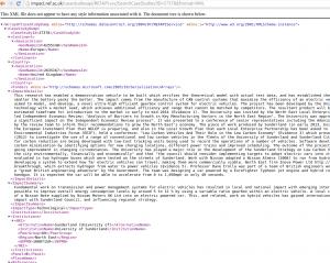 REF2014 id XML response