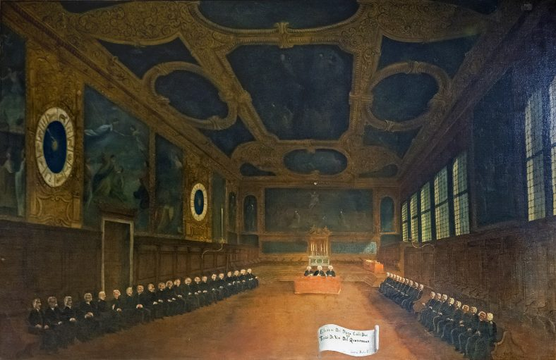 Laine-yliiopiston suurkanslerin valitna 41 valitsijamiehen toimesta.